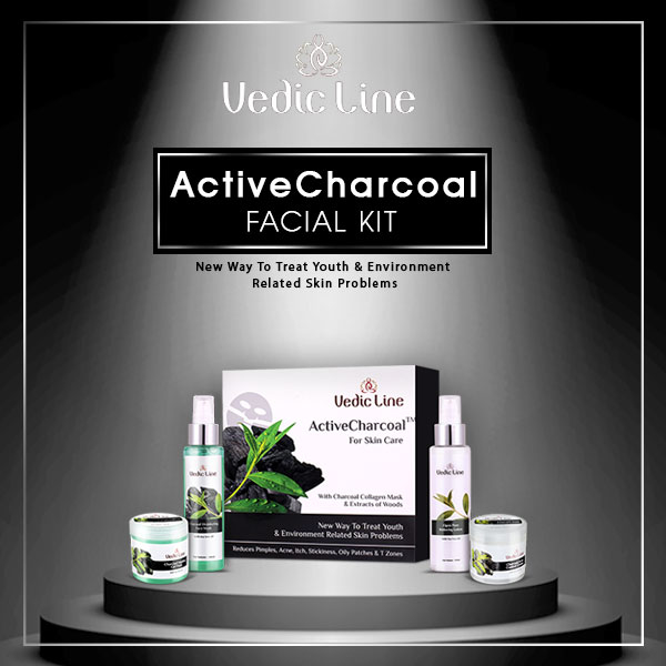 Buy Now: http://bit.ly/activecharcoalfacial  The Vedicline #ActiveCharcoalFacial kit is the new way to treat youth and environment-related skin problems. It's natural ingredients deeply cleanses skin by absorbing deep - rotted impurities. Controls unpleasant shine, itch & oiliness of face.  ✅ Benefits ✅  🌿 Removes deep-seated impurities from the skin. 🌿 Reduces large pores  🌿 Lightens skin and evens skin tone. 🌿 Removes excess oil from the skin  #SkincareRegime #AyurvedicFacial #Vedicline #EssentialAyurveda #GlowingSkin #AyurvedicTreatment #SkincareMustHaves #NaturalIngredients #ActiveCharcoalFacial #AcneFree #PimplefreeSkin #Beautycare #NaturalAyurveda #SkinMaster #SkinCare #NaturalCare