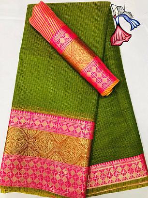 ***Fashion-drapes*** Kota Silk saree with blouse piece Contact or WA : 98254 42027 Price : 870/- Product Code :1118 #kotasilk #traditionalsaree #onlineshop #nari-in-sari