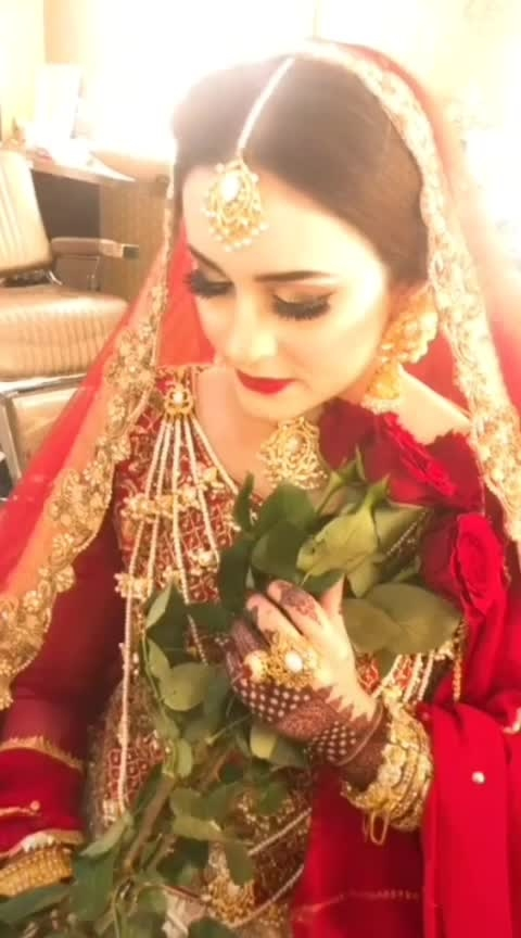 Bridal Makeup 😍👰👰👰❤️❤️❤️  #rangolichannel #featurethisvideo #roposovideoeffect #celebrationchannel  #featurethis #bridalmakeup