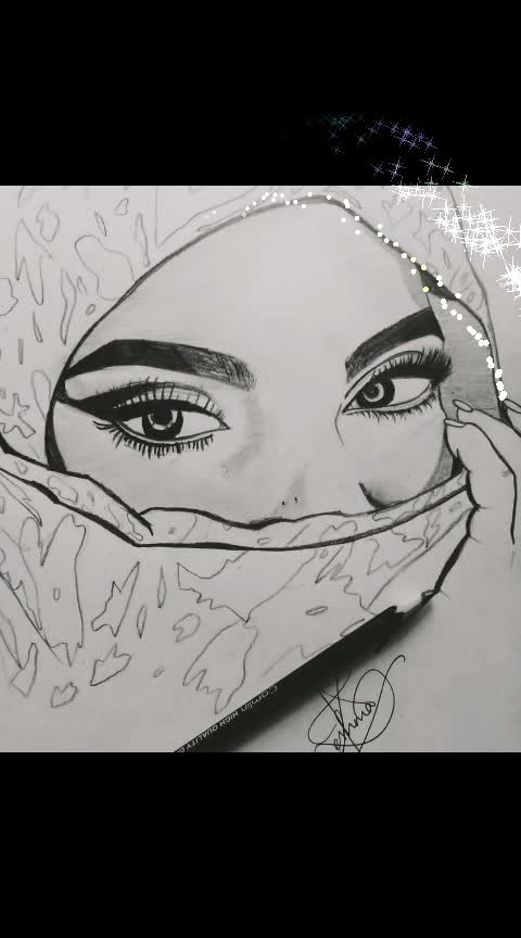 ART 🎨 ♥ #NonTrainer #risingstar #ropo-girl #my-art #pencilsketch #effect #malayalamsongs #malayalee #risingstar #roposostars #roposostarschannel #drawings #pencil-effects #thattathinmarayathu #love-drawing #roposostar #risingstar #roposotalent