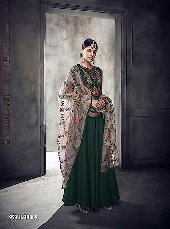 Flaunt Your Elegant Style Wearing This Designer Floor Length Readymade Gown...💞 Price:- 3350/- For Order/Price What-app us (+91) 8097909000 * * * * #salwar #salwarsuits #dress #readymadegown #readytowear #dresses #longsuits #suitsonline #embroidered #onlinefloralsuit #floral #fashion #style #gown #gowns #classy #designer #partywear #partyweargown #exclusive #ethnic #floralprinted #love #us #uk #usa #international #worldwideshipping 📦 ✈