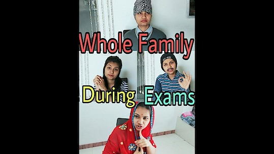 DS Fables: Whole Family During Exams Leave the Like Button 👍