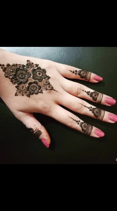 #latest-mehndi #made-by-me