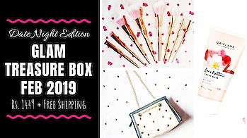 Glam Treasure Box February 2019 | Unboxing & Review | SonaMeraki  Glam Treasure Box Feb 2019 edition contains a lot of goodies including a pretty girly Sling Bag, a Top, Skincare, Jewellery & More. I loved the Rose gold Makeup Brushes Set too! I have shared my honest review on my YouTube channel in the unboxing video. Make sure you check it out! Link in bio💕 . . . . To order : http://www.glamtreasure.com/product/treasure-box/ . . . . #glamtreasure #glamtreasurebox #datenightedition #unboxing #honestreview #quality #classy  #lifestyle #clothing #bag #jewellery #beauty #lifestylesubscription #fashion #subscriptionbox #subscriptionboxindia #subscriptionboxreview #pretty #unboxingandreview  #honestreviews #youtuber #sonammahapatra #sonameraki