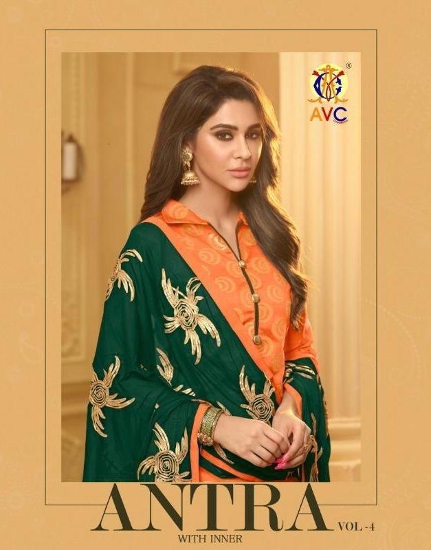 AVC ANTRA VOL 4 DRESS MATERIAL  Link: https://www.bebofashions.com/portfolio/avc-antra-vol-4-banarasi-jacquard-beautiful-dress-material-online-wholesale-rates-bebo-fashions/  WE DELIVER WORLDWIDE  FOR Bookings: WhatsApp: https://goo.gl/V3cDiT   Call: +91 9408469226  Visit www.bebofashions.com for more collection  Thanks & Regards, Bebo Fashions   #bebofashions #exporter #wholesaler #supplyofdesignersuits #pakistanisuits #anarkalisuits #banarsisaree #partywearsaree #patiyalasuits #bollywoodstylesuits #straightsuits #plazosuits #weddinglehngas #bridaldresses #bestwholesalerates !!!!  #worldwide #uk #usa #malaysia #mauritius #jordan #dubai #egypt #hongkong #southafrica #singapore
