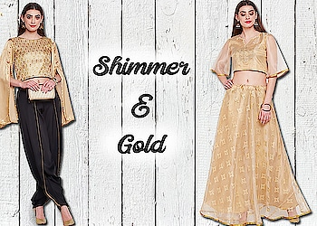 Shimmer & Gold!  https://bit.ly/2zIlLMr  #9rasa #colors #studiorasa #ethnicwear #ethniclook #fusionfashion #online #fashion #like #comment #share #followus #like4like #likeforcomment #like4comment #newarrivals #ss19collection #ss19 #lehenga #gold #shimmer