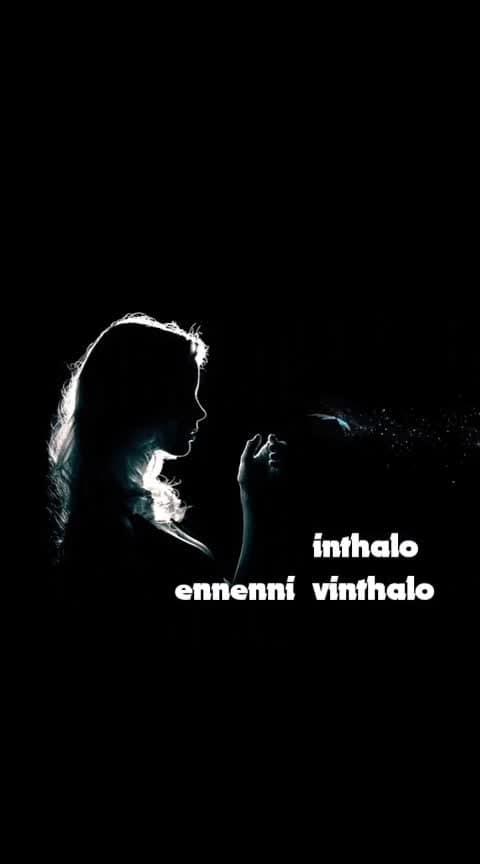 #inthalo_enniennivinthalo 🎵#femaleversion👈 #karthikeya #nikhil #swathireddy #love_status 💖