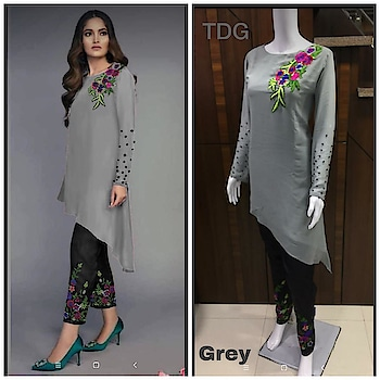 Stylish #Readymade Indo-western High Low Kurtis with Pant...😍 Price:- 1500/- Top :- Georgette (42 size) Bottom:- Cotton Stretchable (36-40 size) For Order/Price What-app us (+91) 8097909000 * * * * #kurti #kurtiwithpant #kurtilover #cottonkurtis #kurtiplazzo #designerkurtis #kurticollection #highlowkurtis #kurtifashion #kurtionline #kurtiplazzoset #kurtitop #indowestern #fashion #outfits #lateststylekurti