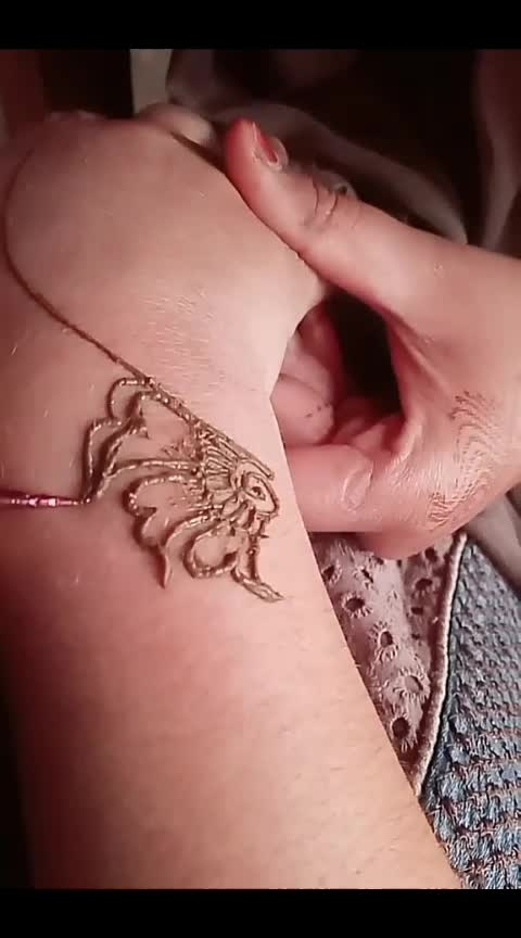 #awesomelook Mehndi Design#