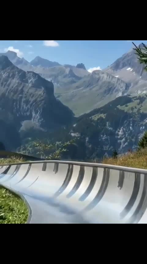 The Oeschinen Lake Mountain Coaster takes you on a 750 meter ride on a ride through the most scenic views that Switzerland has to offer! 🎢🏔 Tag a friend you'd like to #adventure_culture #outdoorlife #outdoorlifestyle #camping #campinggear #adventurers #views #travelguide #seetheworld #beautifuldestinations.