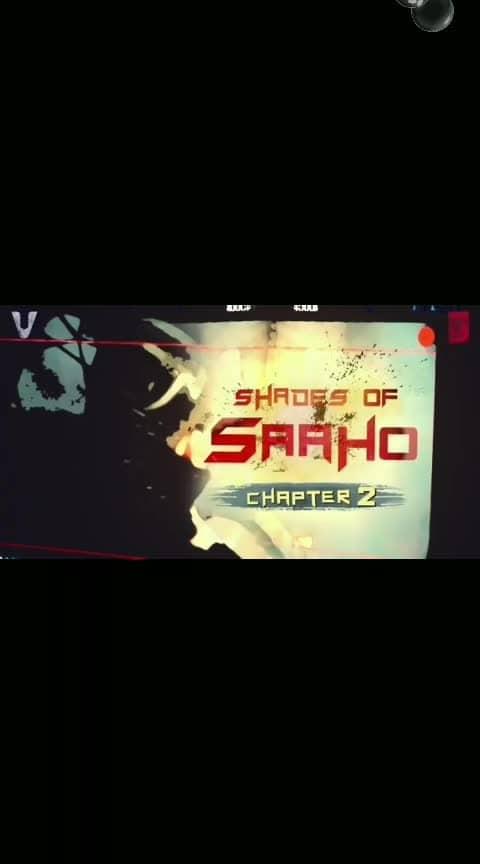 #saaho_darling_prabhash #shadesofsaaho #chapter2 #sradha_kapoor