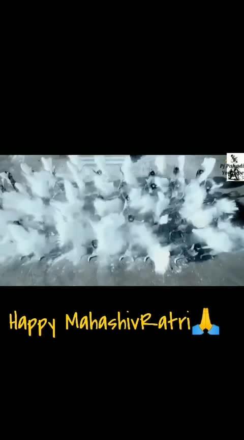 Happy Mahashivaratri #bhole #bholenath #happyshivraatri #jai---shiv--shankar--bhoenath #shiv #shankar #tandav #statusking #todaystatus#haraharamahadev #shambhu