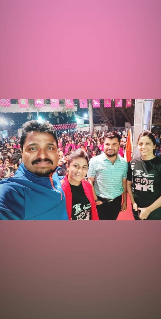PINKATHON, Nashik.... 🏃♀️🏃♂️💪👍 Be bold, Be Fearless, Feel the pride.  The greatest wealth is HEALTH 💪....Before anything else... Be yourself & love yourself❤....Know your worth always🤷....  So glad to see such an amazing Energy from Women of every age group.... 👍🙂 Fearless Midnight woman's run with MILIND SOMAN. Milind Soman is an Indian model, actor, film producer & fitness promoter.  Supported By: - ABS Fitness and Wellness Club, Nashik.... Wherever we lead, that thing and ENERGY LEVEL will be on another level.  #pinkathon #pinkathon2019 #pinkathonnashik #fearless #run #marathon #social #event #womens #empowerment #good #cause #allpink #energy #perfect #venue #happyfaces #fitnessmotivation #keepgoing #running #runlikeagirl #justdoit #fearlessrun #womenpower #womensafety #nasikgoingpink #midnightrun #nutrition #diet #runners #fitness #healthylifestyle #takecareofyourbody #bebold #raceday #sweat #pushup #fitspo #runningterritory #womanhealth #womanempowerment #pinkathonforever #pinkisthefuture #runforhealth #milindsoman #indianactor #supermodel #filmproducer #fitnesspromoter #model #fashiondesigner #absolutelyalive #absnashik #Nashikfame #AbsFitnessNWellness #abs #Nasik