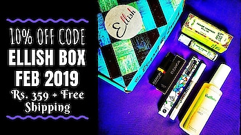 Ellish Box February 2019 @359 | 10% OFF | Till 5th March 2019 | Unboxing & Review  Grab an additional 10% Discount by using code -SONA10 on this February 2019 Ellish Box! It contains awesome branded products worth Rs. 2500! Checkout the full review on my YouTube channel for more details. link in bio! 💕 . . . . To Order : Website : http://ellish.in/ Instagram DM : https://www.instagram.com/_ellish__/ Price : Rs. 359 (Free Shipping) Discount Code - SONA10 . . . . #ellish #ellishbox #discount #february #2019 #beautybox #affordable  #beautysubscription #skincare   #makeup #natural #glowingskin #naturalskincare #unboxingandreview #youtuber #subscriptionboxindia #subscriptionboxreview #sonameraki  #honestreviews #sonammahapatra