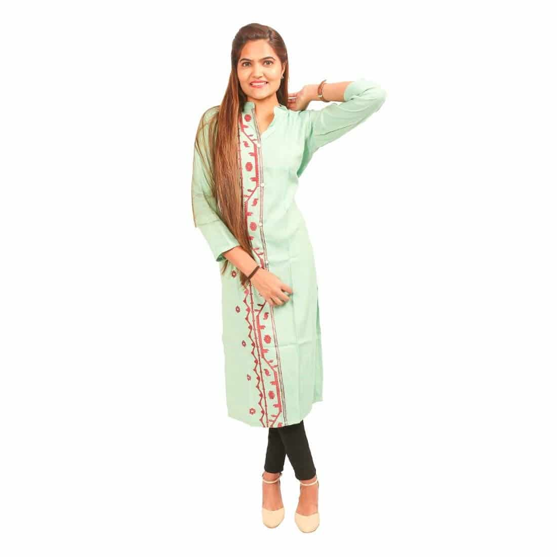 N's Boutique Green Cotton Straight Kurti for Women  N's Boutique is a women's ethnic and fusion wear value brand. Our range is sharply priced and offers an array of products across solids, prints. We offer the right blend of quality, style and value aimed to delight our customers. #kurta #kurtaforwomen #womenkurta #straightkurta #womenstraightkurta #kurtiforwomen #womenkurti  Link : https://www.amazon.in/Ns-Boutique-Green-Cotton-Straight/dp/B07MMY9J1L/ref=sr_1_14?m=A2XEB0RLEQQ2DY&s=merchant-items&ie=UTF8&qid=1551789591&sr=1-14