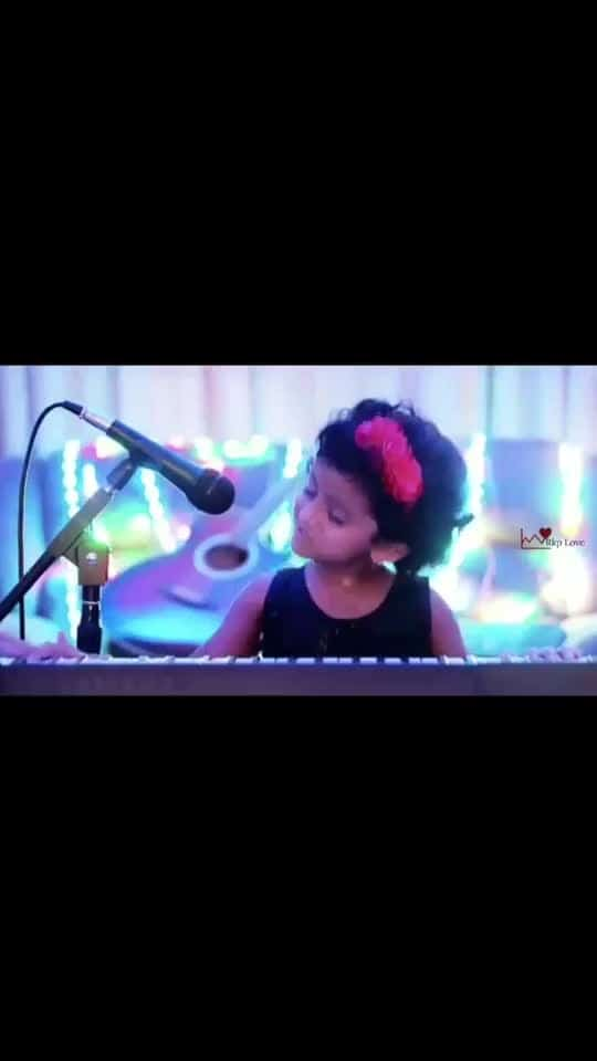 💖💖💖💕👌👌#tamilsong #tamilmusic #qutebaby #cutesinger #cutesong #proudindian #albumsong #nice