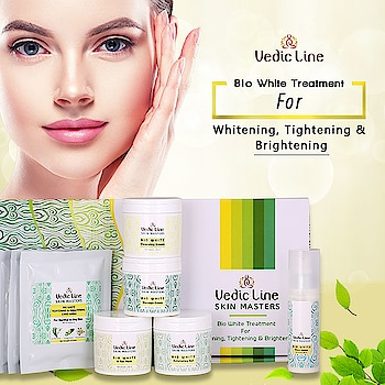 Whitening & Fairness is the ultimate goal of one who wants to look beautiful & attractive.  Vedicline has introduced most advanced #Facial with multiple whitening ingredients to reduce uneven skin - color, #Spots & #Tan and to give a healthy & radiant look.  Buy Now: http://bit.ly/biowhitefacial  💟Benefits💟  • Heals and protects the skin  • Skin Whitening Facial Kit • Makes the skin fairer and brighter.  • Makes the skin firm and soft. • PARABEN FREE  #SkincareRegime #AyurvedicFacial #Vedicline #EssentialAyurveda #GlowingSkin #AyurvedicTreatment #SkincareMustHaves #NaturalIngredients #BioWhiteFacial #BioWhiteTreatment #AcneFree #PimplefreeSkin #Beautycare #NaturalAyurveda #SkinMaster #SkinCare #NaturalCare #WomensDayPreparation #WomensStyle