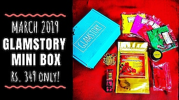 "Glamstory March 2019 | Mini Box @349 | 10% OFF | HOLI SPECIAL | Unboxing & Review  The March ""Holi Special edition"" by Glamstory includes Skincare, Makeup, Jewellery & Organic colours at a very affordable price tag of Rs. 349 including shipping! The skincare products have amazing ingredients & look very promising. It a great gifting option for others & self, during this festive season!  . . . . Checkout the unboxing & review video on my channel for more details. Link in bio. 💕 . . To order - www.glamstory.in 10% Discount code mentioned in video.  . . . . #glamstory #glamstorybox #holi #specialedition #organiccolors #glamstoryminibox #jewellery #skincare  #makeup #march #lifestsyle #gift #festive #affordable #beautysubscription  #monthlysubscription #unboxingandreview  #discoveringsubscriptions #subscriptionreviews #honestreviews #subscriptionboxindia #subscriptionboxreview #youtuber #sonammahapatra #sonameraki"