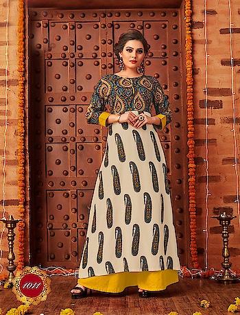 Jaipuri Printed Designer Trendy Kurtis...💥 Limited Stock 💥 Price:- 1400/- To Order Whats-app us (+91) 8097 909 000 😊 * * * * #kurtis #kurti #onlineshop #onlinekurtis #kurtisonline #dress #indowestern #ethnicwear #gowns #fashion #aipuriprints #printed #printedtops #jaipuri #jaipuritops #ethnic #womenwear #style #stylish #love #socialenvy #beauty #beautiful #onlineshop