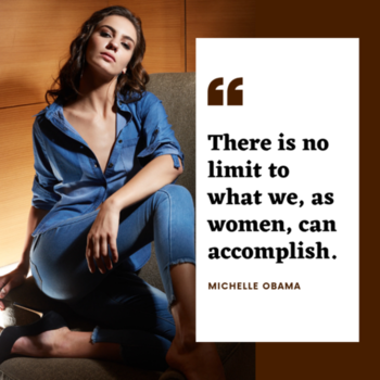 There is no limit to what we, as women, can accomplish. -Michelle Obama. . . . . #trendarrest #trending #trendyoutfits #trendfollowers #womens #western #wear #womenempowerment #clothingbrand #onlinestore #modern #positivevibes #followforfollow #likeforlikes #instalikes #instafollow #fashion #fashionista #denimondenim #shirt #blue #color #shades #confident #bold #classy #sassy #wednesdayvibes #postoftheday