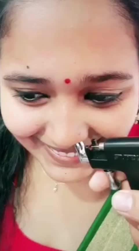 mookuththi potatha ponnuku azaghu #mookuthi #nosepins