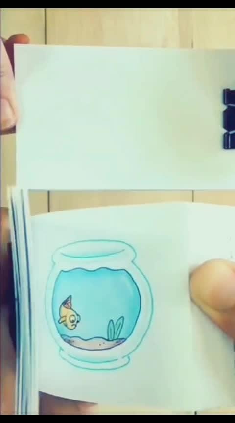 #fish  #love  #drawing