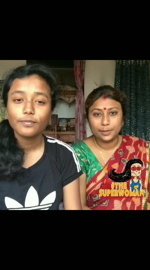 #internationwomensday #thesuperwoman #ropososinger #singer #momdaughtergoals #duet #dilhaichhotasa