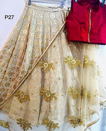 Enhance Your Personality Wearing This Rich And Elegant looking Designer Lehenga Choli...❣️  To Order WhatsApp us (+91) 8097909000 Price: 2800/-  Fabric :  ⏭ important foil work lehnga  (3-meter flair )  ⏭ Bangalore satin blouse with zip ( unstitch )  ⏭ net dupatta with zari & stonework with 4 side pearl border  * * * * #lehengas #weddingwear #bridalwear #partywear #pearllehenga #partywearlehenga #indianwedding #desiwedding #bride #desibride #indianbride #designer #onlineshopping #wedding #ethnic-wear