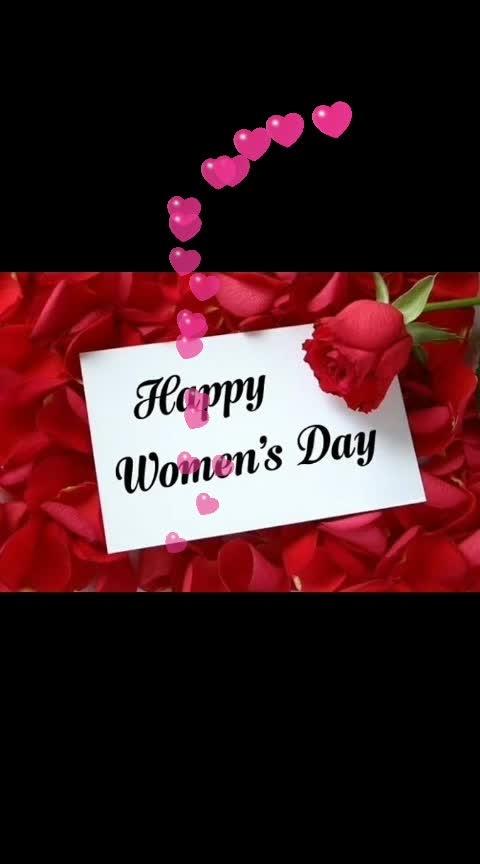 Happy women's Day! #womensday #goodmorning-roposo #8march2019 #womenpower #celebration