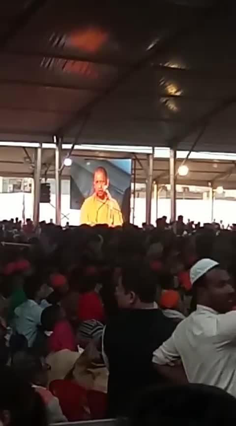 yogi adityanath ki speech #bjpsarkar #bjp #pmmodiji #yogiadityanath #public #opinion
