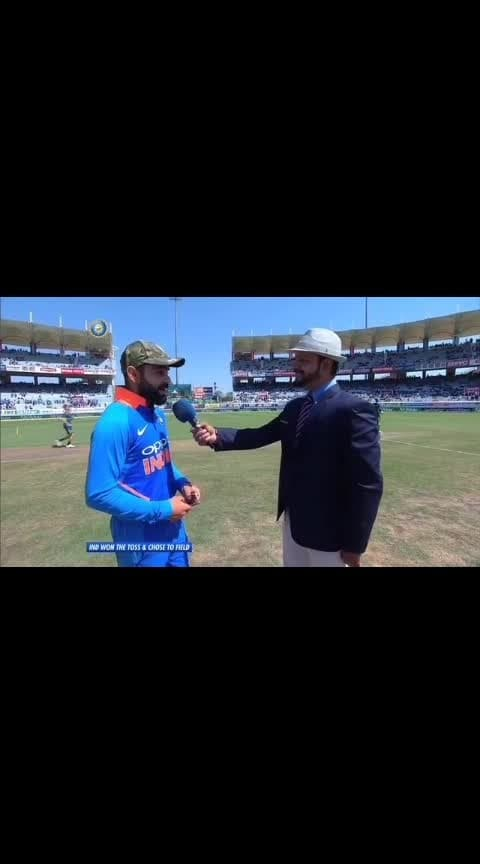 #indian  #cricketers #donate #match #fees #indian #army ... #wearing #camouflage #caps #condemning #pulwama_attack .. #indiancricketteam 🙏