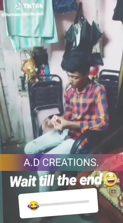 A.D CREATIONS 😍 FUN IS ON GUYS 👌👍  #love #mood #stylish_cubs #roposo #video #swag #daddy