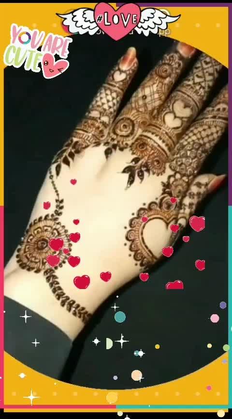 #indian-mehndi #designer-of-mehndi #latest-mehndi 🎶🎶