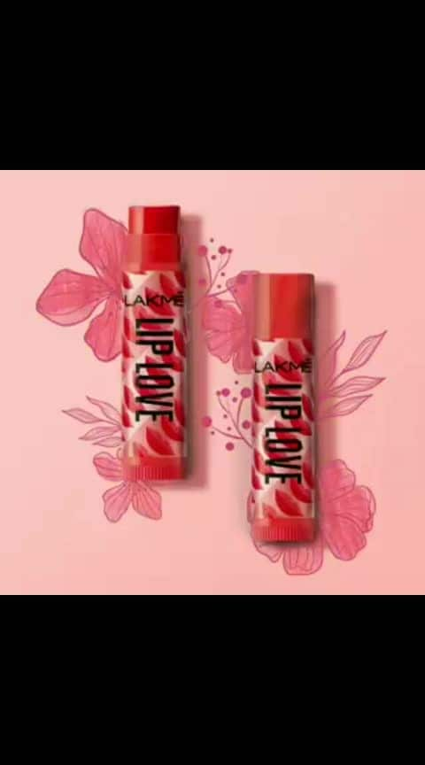 Celebrate the advent of spring with the flavours of Lakmé Lip Love! Which one's your fav - Cherry, Strawberry or Mango? #Lakme #LakmeIndia #LipBalm #LipLove #LakmeLipBalm #Skincare #Beauty #SoftLips