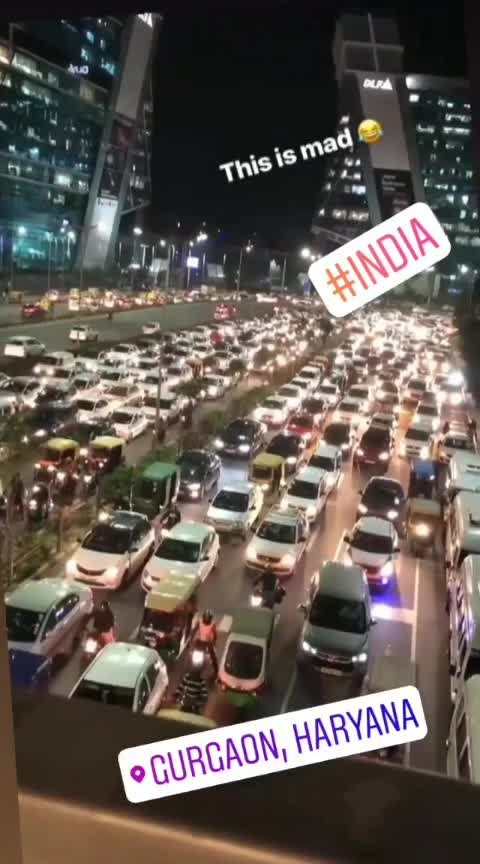 #traffic #madness #mad_in_india #amazing-traffic-area #instamoment #-----roposo