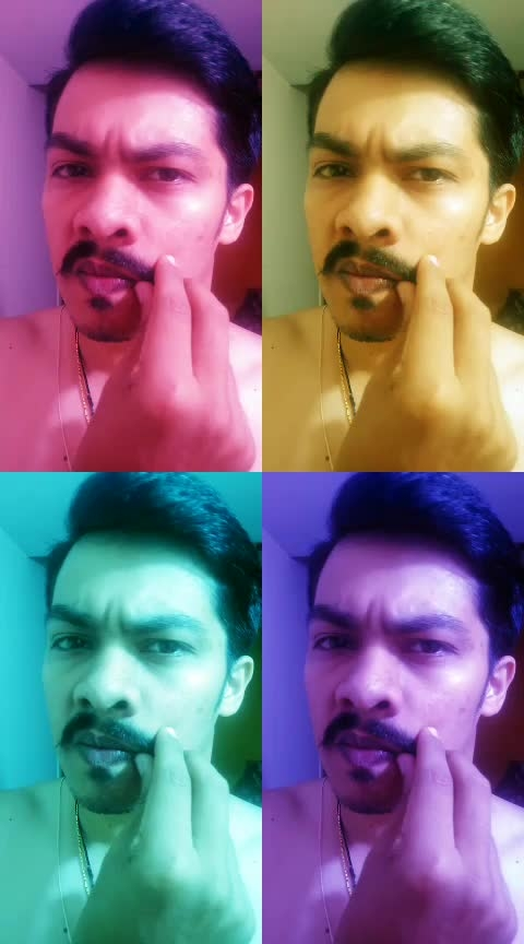 #kannadaroposo #filmistaan #moustache #thevillain #roposostars #haha-tv which look is better? with or without moustache?