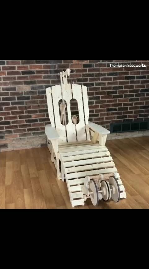 I made a back scratcher chair 😁 #rubegoldberg #backscratcher Follow @sciencesetfree  . . . . . . . . . . . . . . . . . #innovation #woodworking #engineering #robots #robotics #automation #kinetic #design #engineer #bot #robot #robotics #woodcrafts #adirondack #massage #massagetherapy #woodworker #carpentry #diy #furniture #lounge #wood #loungechair #woodart #adirondackchair #whimsicle @rubegoldberg