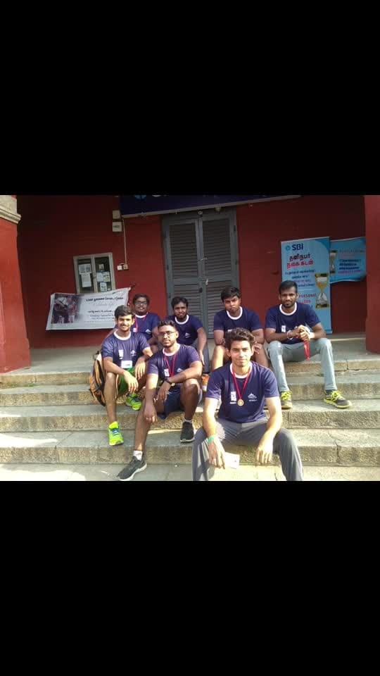 #Halowings2K19#marathon #funmode #zombadance  @ Chennai, India