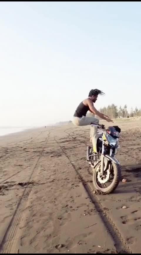 Crazy backflips bike 🤯💪🤯 #sportlover #slowmo #beach #practice #sports #tumbling #parkour #slomo