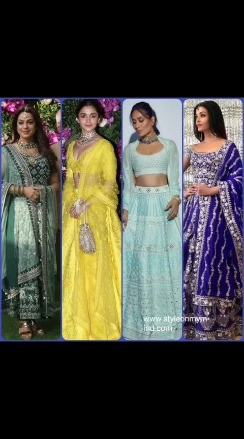 💜 STYLEONMYMIND 💜 The lehenga brigade . . #fashion #be-fashionable #roposo-fashion #fashionquotientchannel #traditionallook #traditionallehengas #ethnic-wear #ethinicattire #indian dress... #celebrityfashion #celebritystylist #bollywoodstylesuits #bollywooddresses #roposo-styles #stylistafashionss #stylewear #styleadvice #trendylook #be-in-trend #trendreport #roposofashionbloggernetwork #roposofashionandmakeupdiaries #traditionaljewellery #ethinicjewellery