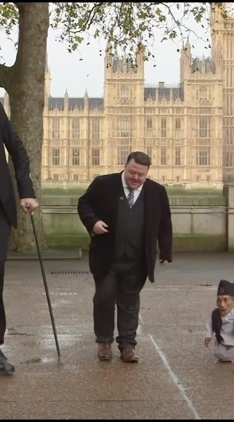 Guinness World Record Holder Tallest and Shortest Man 😯👌