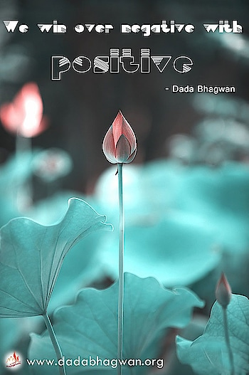 'We' win over 'negative' with 'positive'.  To know more visit :  https://www.dadabhagwan.org/path-to-happiness/spiritual-science/spiritual-science-of-speech/how-to-stop-negative-feelings/  #positive #negative #spiritual #spirituality #quote #positivevibes #positivity #positivevibes