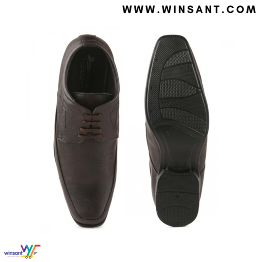 Paragon's Brown Men's Max Formal Shoes ₹809 FREE SHIPPING Occasion : Casual Wear Material : Fabricate Ideal For : Men