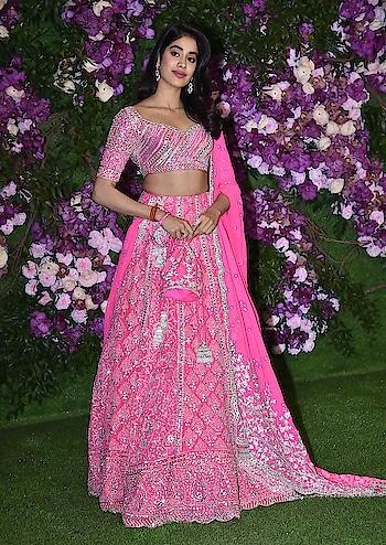 Janhvi Kapoor in Manish Malhotra #janhvikapoor #manishmalhotra #manishmalhotralehenga #lookgoodfeelgoodchannel #fashionquotientchannel #followmeonroposo