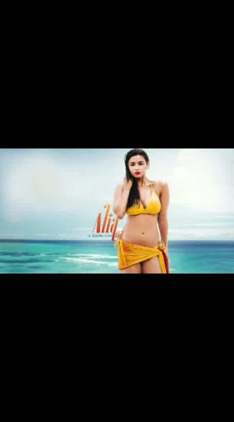 Hot Alia bikini photoshoot #aliabhattlovers #fashion #fashion_tv #roposofasion #filmistaanchannel #hot-hot-hot #bikini #sizzlinghot