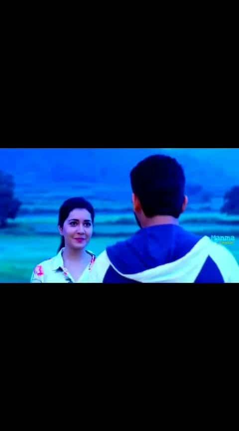 #nitin _#rashikhanna _#lovesong  from #srinivasakalyanam