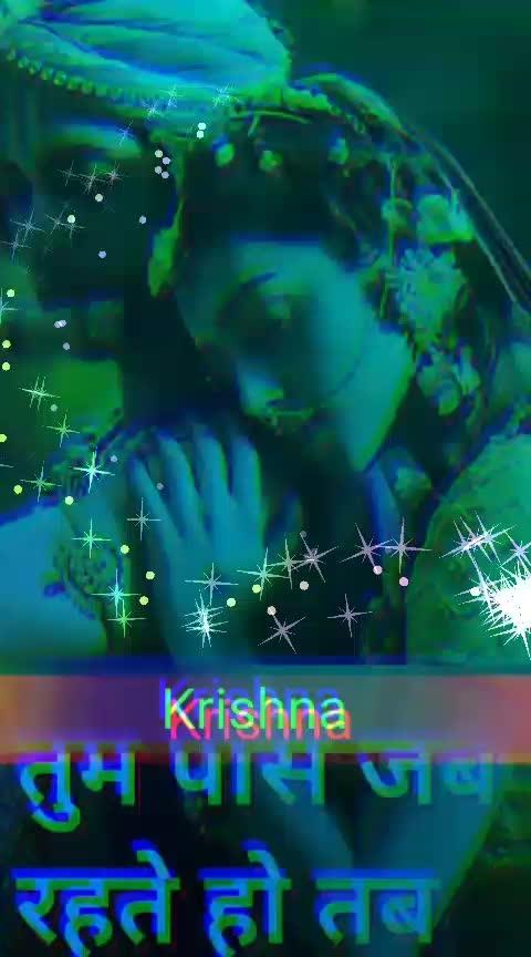#loveislife #roposo #krishna #radhakrishna #roposo-feed #love-status-roposo-beats