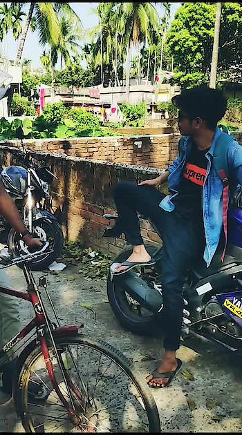 bike too kinlm bt patrol nai😥😥😥#own-voice #bengali-hit #funny #bongboy #roposokolkata @roposocontests