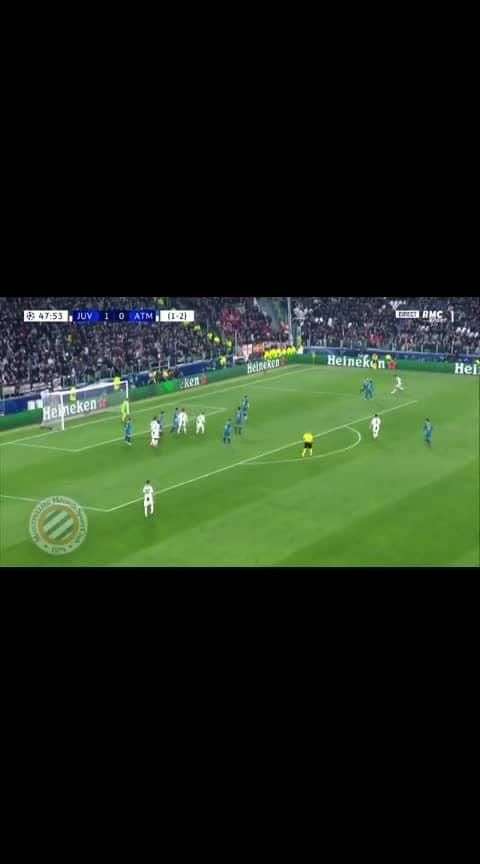 2nd goal of hatrick  Juventus vs Atletico Madrid #juventus vs #atleticomadrid  #cristiano #ronaldo7 #cristianoronaldo #cr7