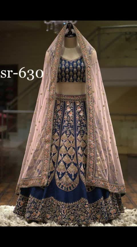 *#sr-630  #Langha:-taffeta sillk with havvy chaine work  #Choli :-taffeta sillk with chaine work  #Dupatta :-net  with border  *Rate:-1300/-*+Shipping Cost Extra
